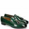 Loafers Scarlett 3 Pine Tassel Accessory Gold Navy