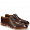 Oxford schoenen Jacob 1 Dark Brown