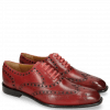 Oxford schoenen Jacob 1 Venice Ruby Washed