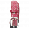 Riemen Linda 1 Crock Dark Pink Sword Buckle