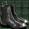 Enkellaarzen May 1 Black Toe Cap Gunmetal