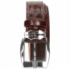 Riemen Larry 1 Crock Burgundy Sword Buckle