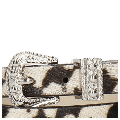Armbanden Ines 1 Hairon Tweed Buckle Nickle