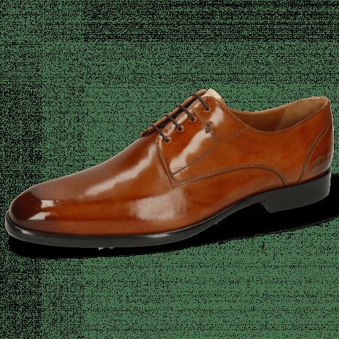 Derby schoenen Elyas 4 Tan Lining Rich Tan