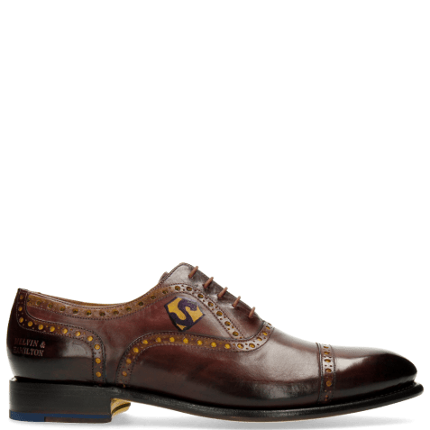 Oxford schoenen Lionel 1 Burgundy