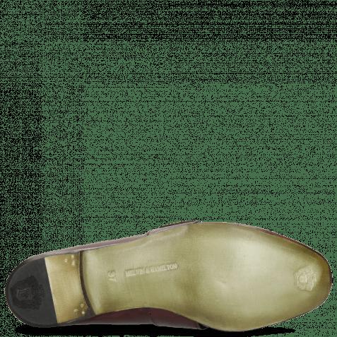 Loafers Luna 2 Burgundy Bee Gold