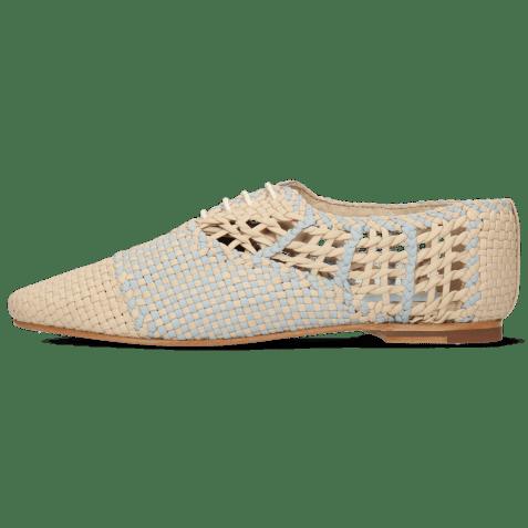 Oxford schoenen Aviana 3 Woven Off White Wind