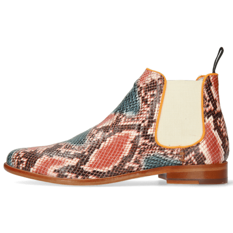 Enkellaarzen Selina 48 Snake King Multi Rust