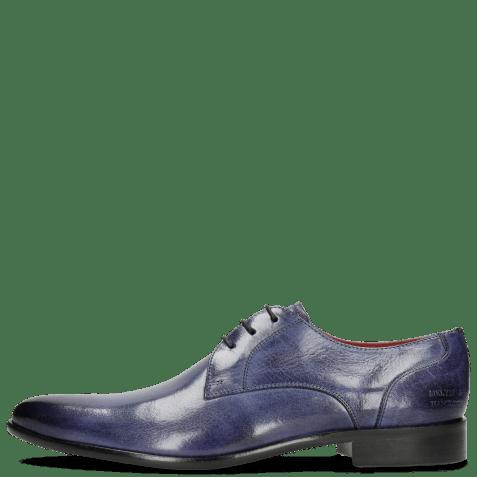 Derby schoenen Toni 1 Forum Cobalt Lining Red