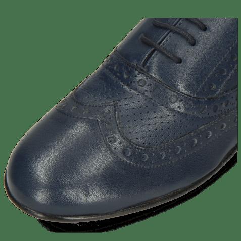 Oxford schoenen Sonia 1 Nappa Perfo Navy