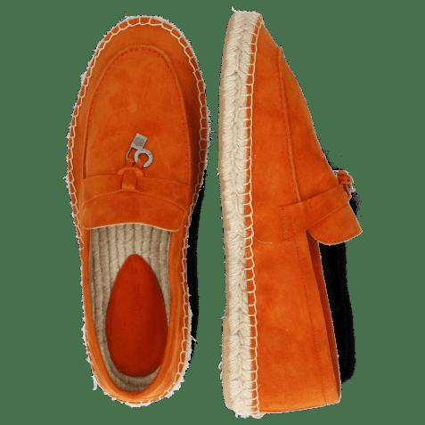Loafers Sandro 3 Oily Suede Orange Strap