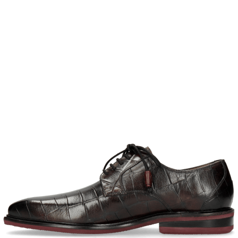 Derby schoenen Marvin 19 Turtle Dark Black