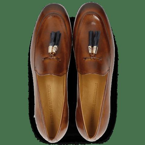 Loafers Scarlett 3 Cognac Tassel Navy