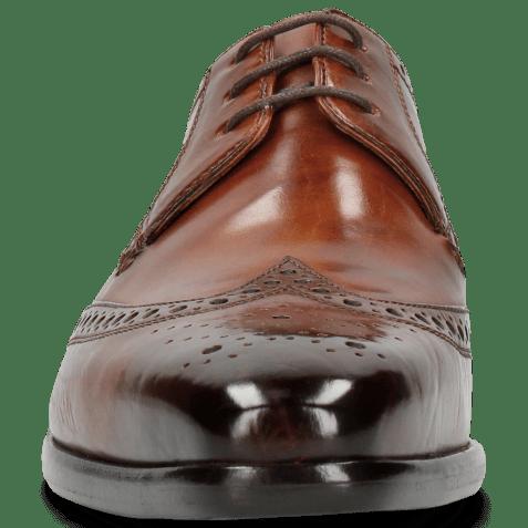 Derby schoenen Lance 2 Tan Lining Purple