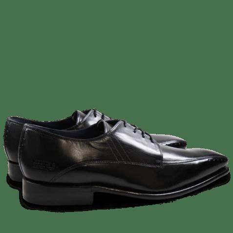 Derby schoenen Stanley 1 Crust Black LS