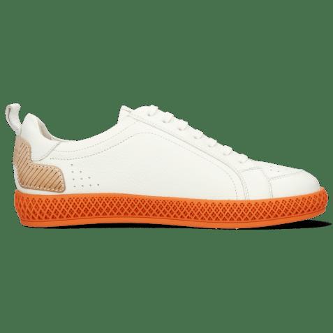 Sneakers Harvey 36 Milled White TC Orange