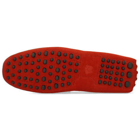 Loafers Nelson 1 Suede Pattini Pompei Dots