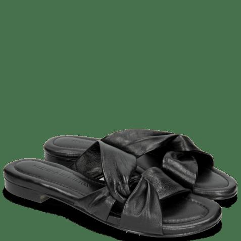 Muiltjes Hanna 56 Nappa Black