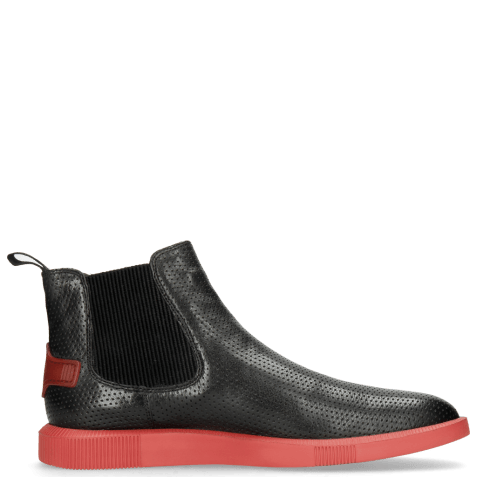 Enkellaarzen Newton 3 Franky Perfo Black Risk Red