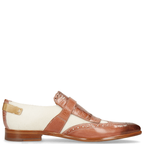 Monks Clint 26 Earthly Canvas Off White Crock Natural