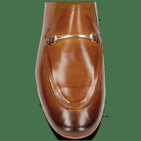 Loafers Scarlett 1 Tan Trim Gold