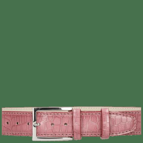 Riemen Larry 1 Crock Lilac Classic Buckle