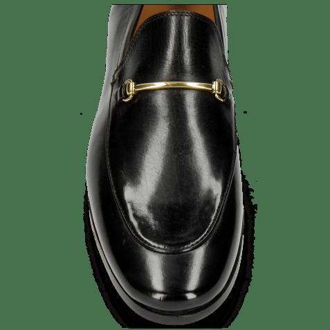 Loafers Scarlett 1 Black Trim Gold