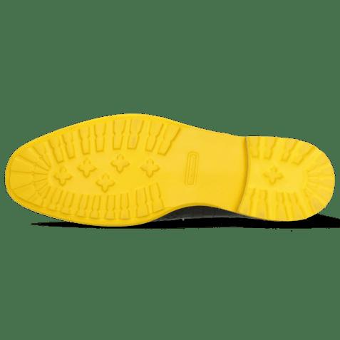 Enkellaarzen Eddy 10 Crock Navy Pop Yellow