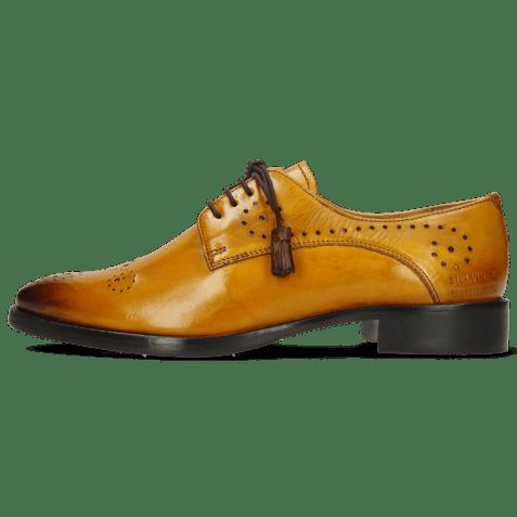 Derby schoenen Betty 2 Indy Yellow Dark Finishing