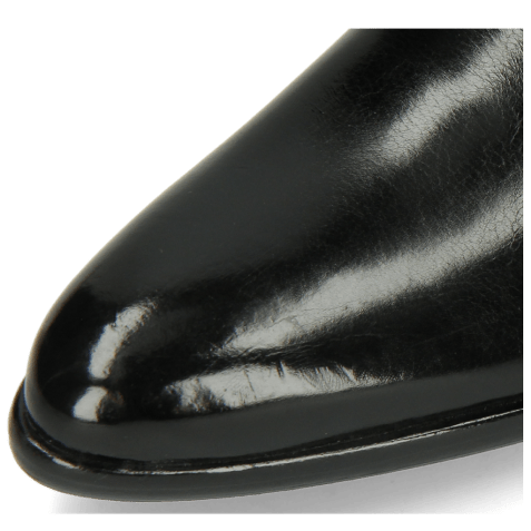 Derby schoenen Toni 1 Black Lining Red HRS