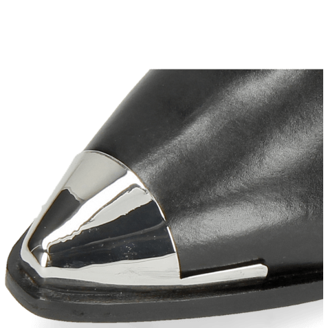 Enkellaarzen May 1 Black Toe Cap Gunmetal
