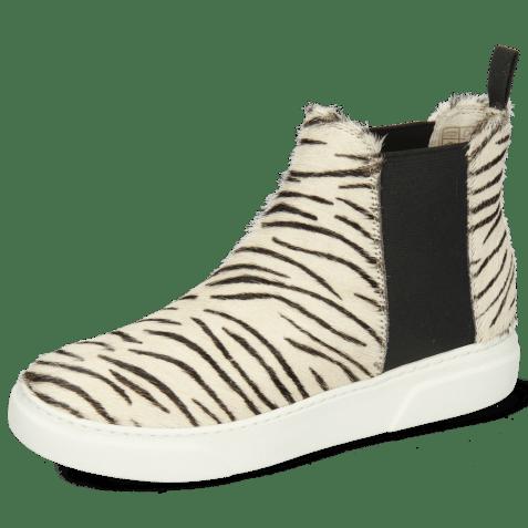 Enkellaarzen Hailey 15 Hairon Young Zebra
