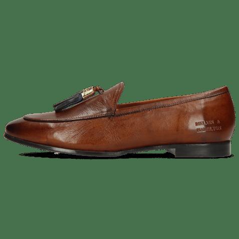 Loafers Scarlett 48 Pisa Wood Accessory Gold