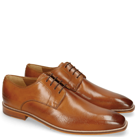 Derby schoenen Alex 1 Venice Pebble Tan