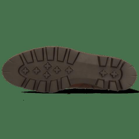 Enkellaarzen Susan 69 Turtle Dark Brown Textile Brina Mokka Lining