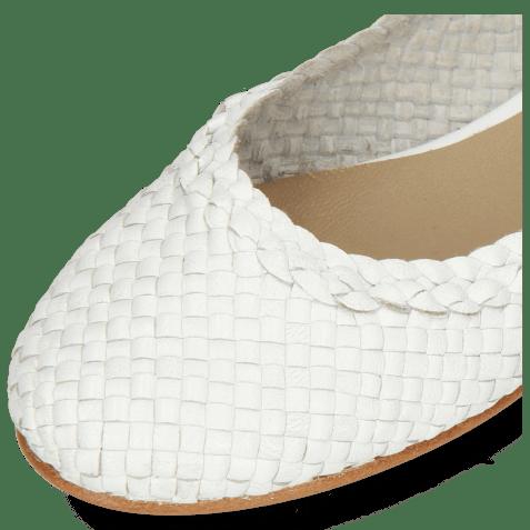 Ballerina's Kate 5 Woven White