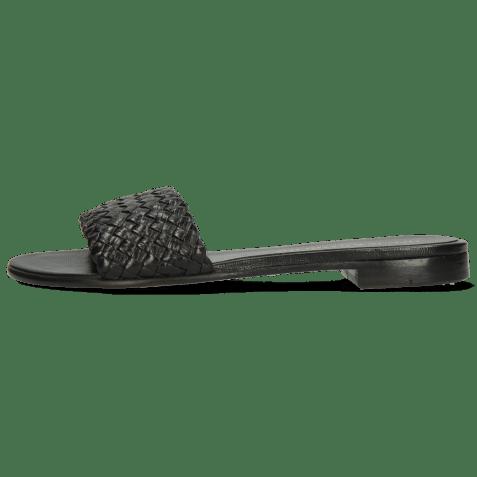 Muiltjes Hanna 26 Woven Black