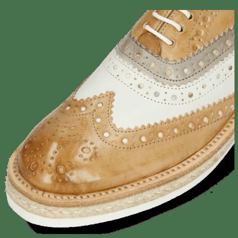 Oxford schoenen Amelie 10 Imola Sand White Oxygen