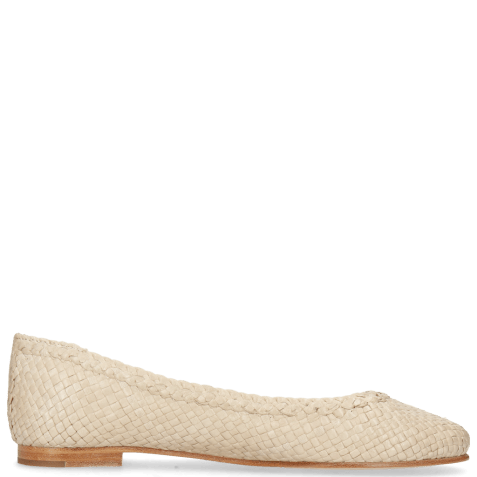 Ballerina's Kate 5 Woven Off White Natural