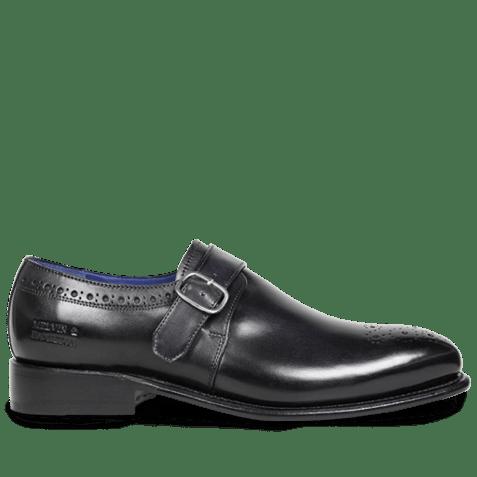 Monks Charles 6 Crust Black LS