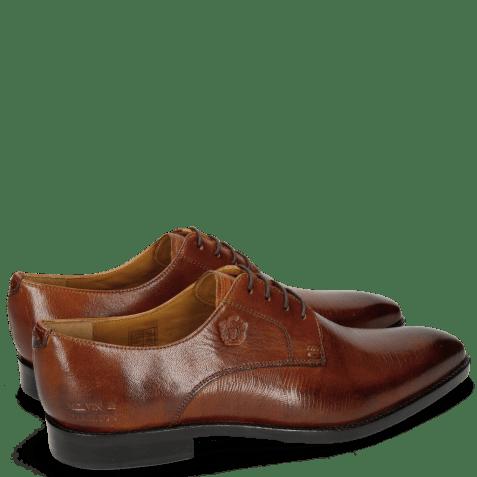 Derby schoenen Martin 1 Venice Guana Tan