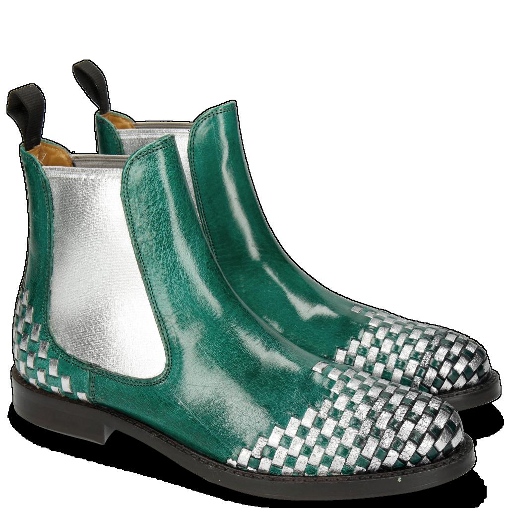 Chaussures tressé main cuir   Melvin   Hamilton d0573066a957