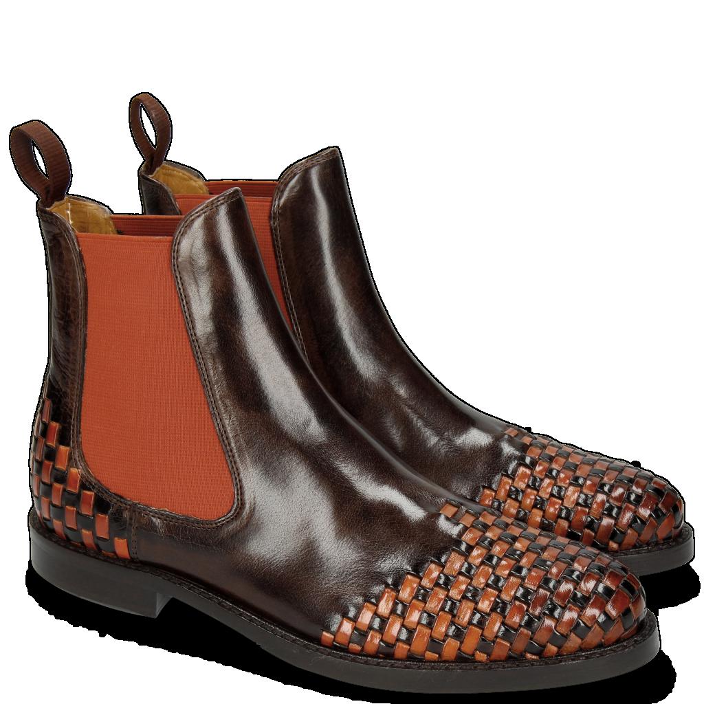 Chaussures tressé main cuir   Melvin   Hamilton f5ef0bf74896