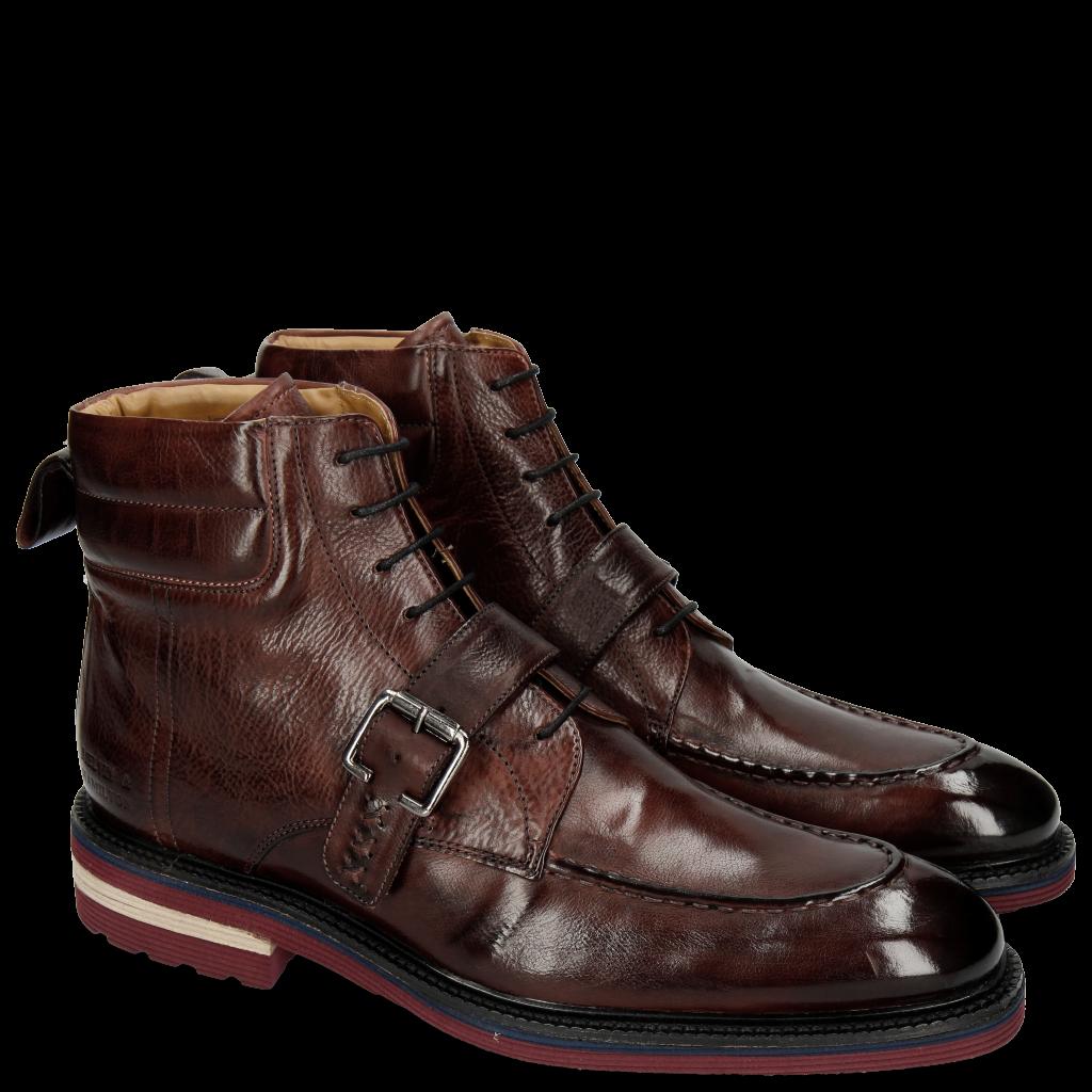 Herren Schuhe Stiefeletten Leder   Melvin   Hamilton 8363fb8f25