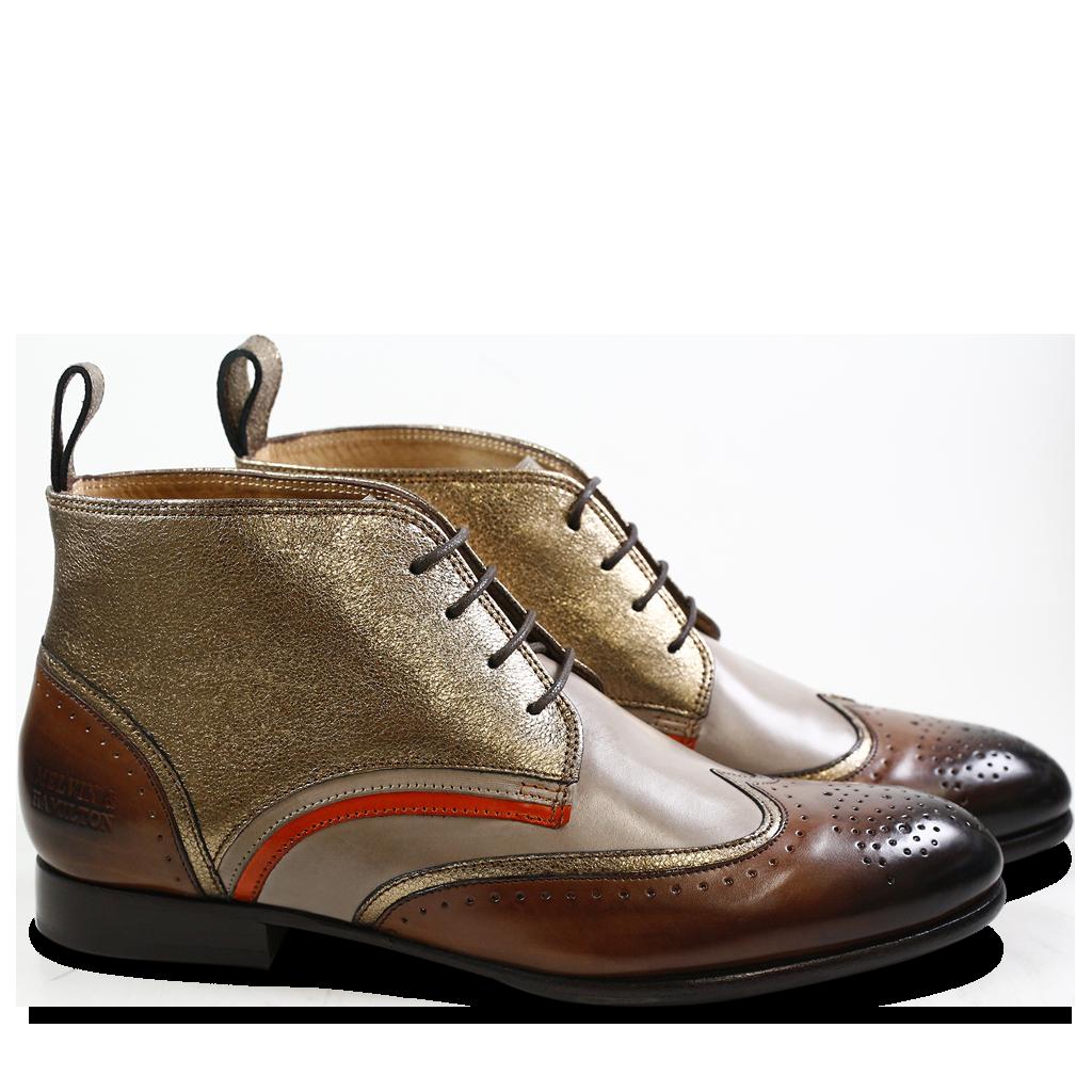 15 Sally - Chaussures Pour Femmes Lacer / Beige Melvin & Hamilton C4dA8nFai