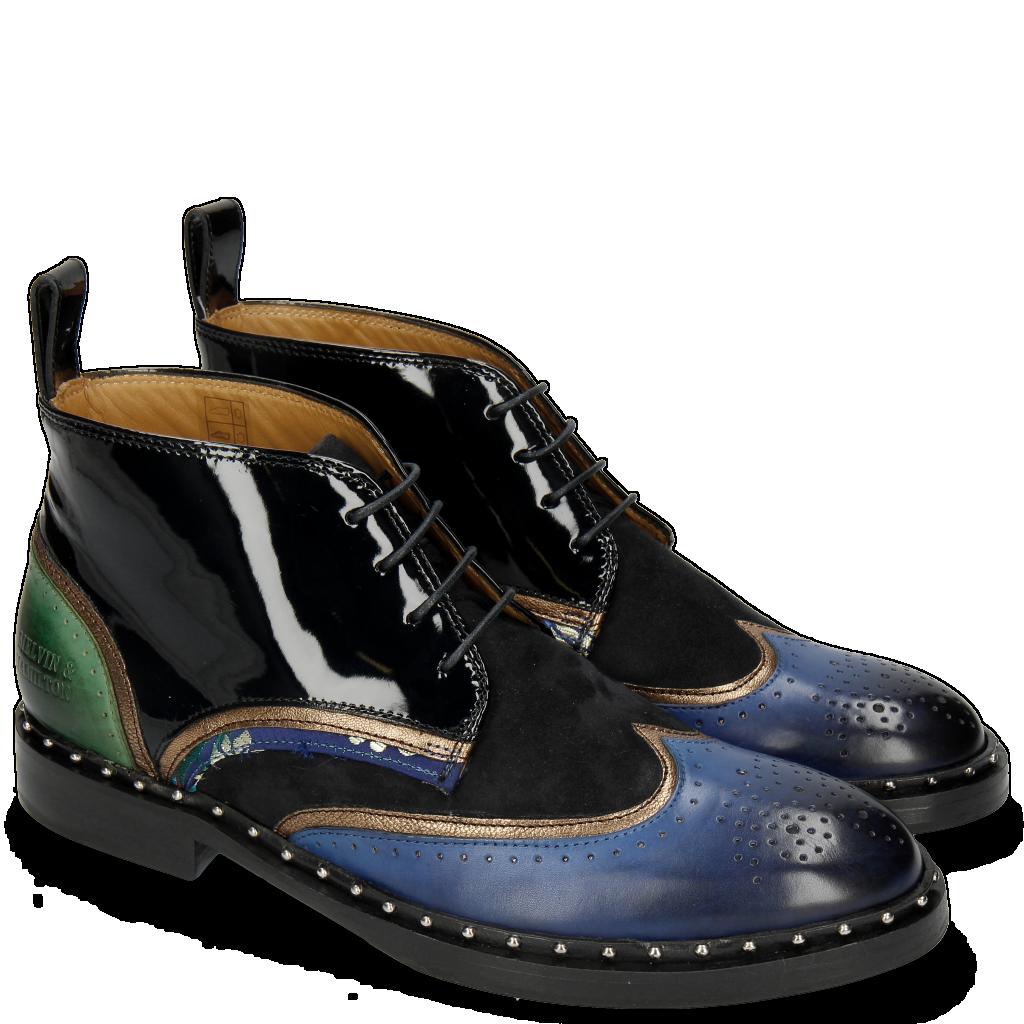 Femmes Cuir amp; Hamilton Melvin Chaussures Bottines PwExdgw7