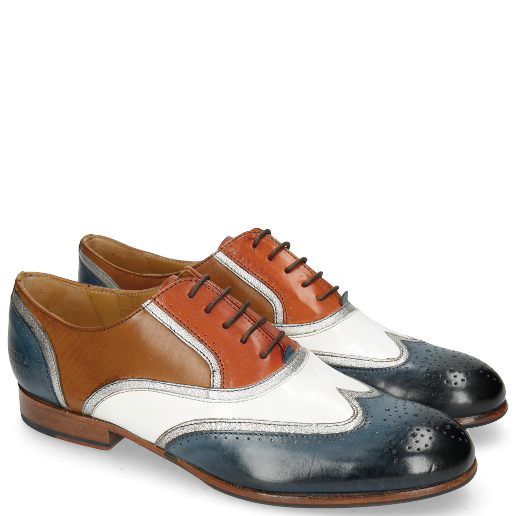 Chaussures Femmes Richelieus en cuir   Melvin   Hamilton 19eba18cb274