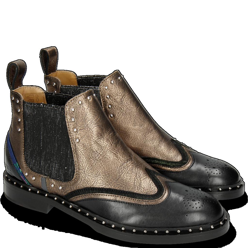 nouveau style ca145 7cca8 Chaussures femme en cuir véritable | Melvin & Hamilton