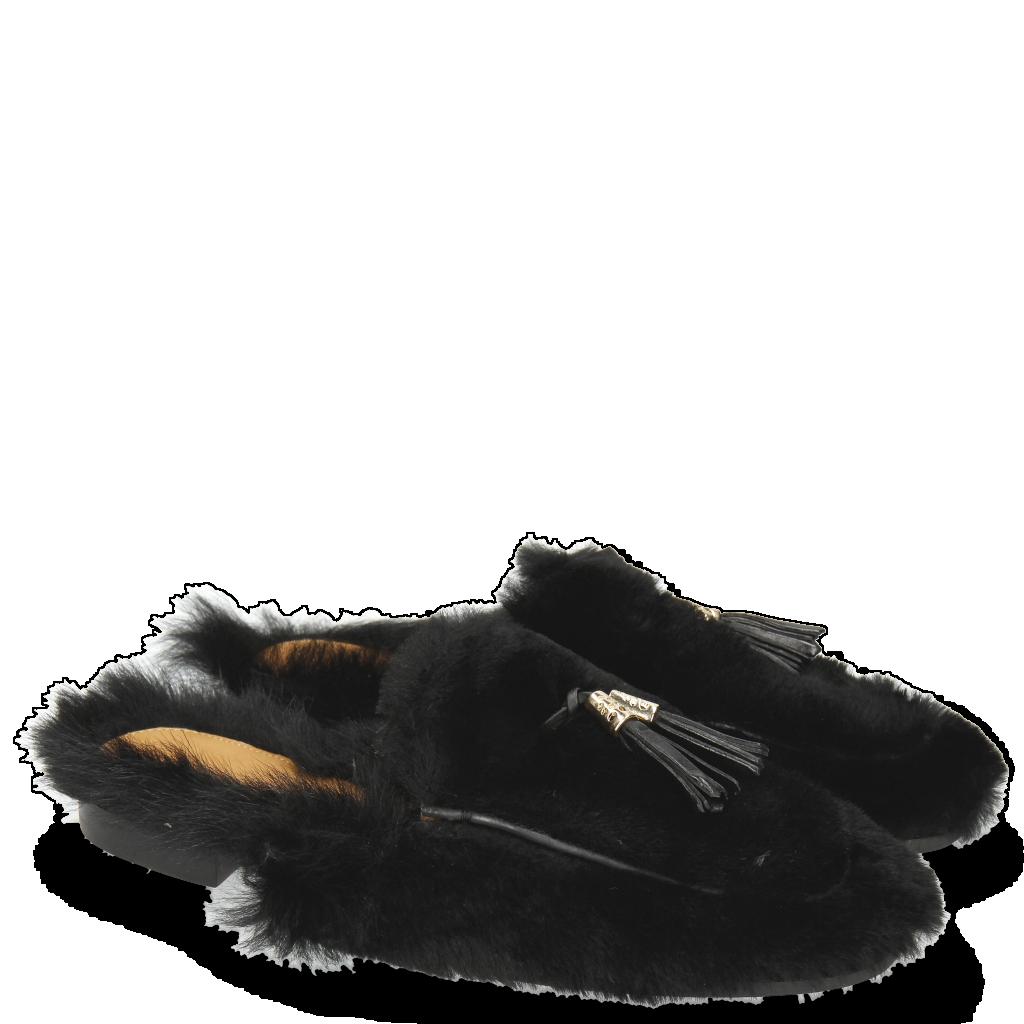 Chaussures femmes Mules plates cuir   Melvin   Hamilton cc31183891aa