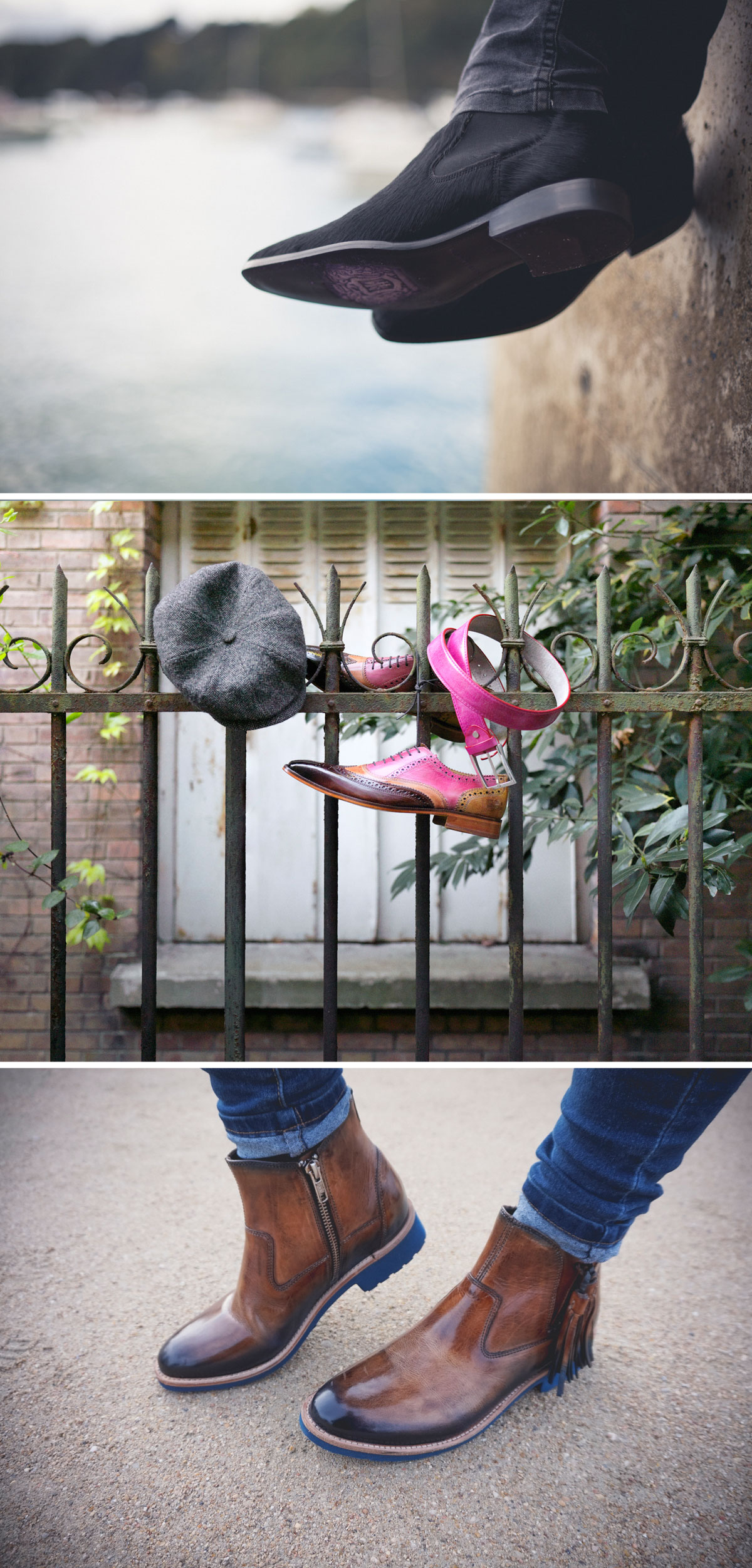 Melvin & Hamilton chaussures maroquinerie